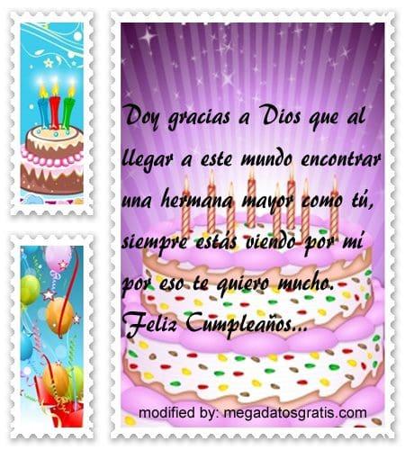 Dedicatorias de cumpleaños a tu hermana,Espléndidas palabras de cumpleaños para tu hermana