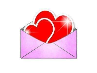 Linda  carta con imàgenes de feliz cumpleaños para mi amor