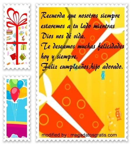 mensajes cumpleanos45,tarjetas con imàgenes de cumpleaños para un hijo