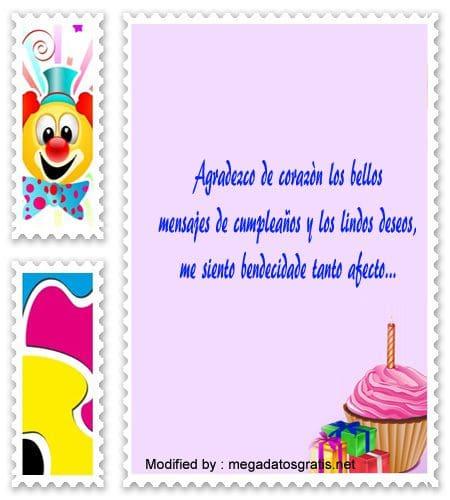 frases de agradecimiento por saludos cumpleañeros,mensajes de agradecimiento por saludos cumpleañeros
