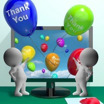 Lindas frases de agradecimiento por saludos en Facebook