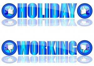 Carta de notificación de vacaciones, ejemplo de notificación de vacaciones