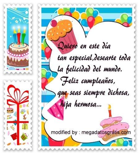 para cumpleaños para mi hija,palabras de cumpleaños para mi hija