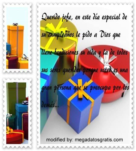 Dedicatorias de cumpleaños jefe,Lindos mensajes de textos para saludar a jefe por su cumpleaños