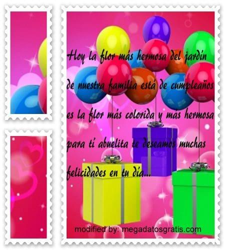 Palabras de cumpleaños abuela,obsequiar bellas palabras de cumpleaños para tu abuela
