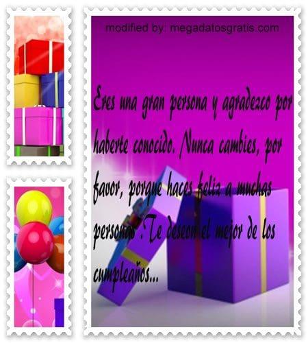 Palabras de cumpleaños para facebook,textos de cumpleaños para facebook