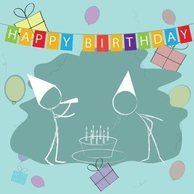 Originales felicitaciones de cumpleaños para tus colegas con imágenes