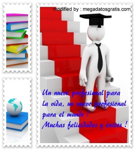 Frases para graduación licenciatura - Imagui