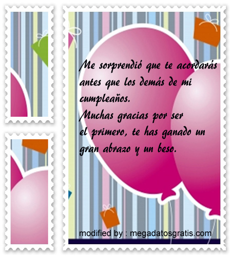 imagenes agradecimiento saludos cumpleanos2,nuevos textos con imàgenes de agradecimiento por saludos de cumpleaños