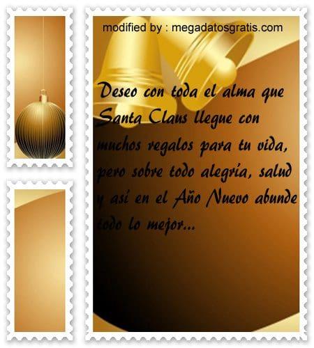 postales de mensajes de Navidad,textos lindos para saludar por Navidad y Año Nuevo
