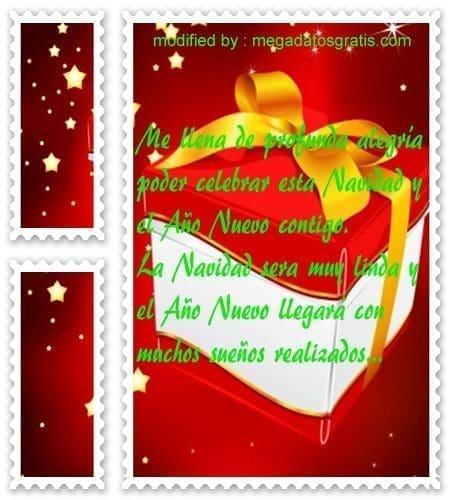 postales de mensajes de Navidad,dedicatorias para desear a un amigo en Navidad y Año Nuevo