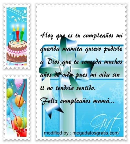Frases de cumpleaños a mi madre, Lindas frases de cumpleaños para tu madre