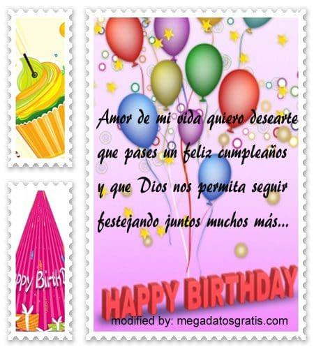 Mensajes de cumpleaños para mi novia,Bellos mensajes de cumpleaños para tu pareja