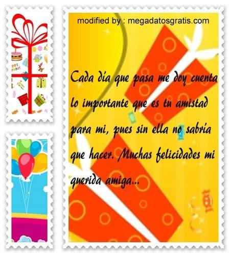Textos para mi amiga por su cumpleaños,obsequiar bellas palabras de cumpleaños para tu amiga