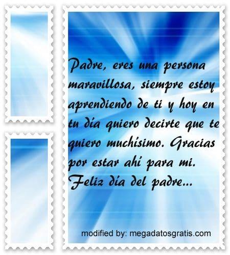 bellas frases con imàgenes por el dia del Padre,tarjetas con saludos por el dia del Padre