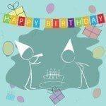 Ejemplo de frases de cumpleaños para tus hijos, saludos de cumpleaños para tus hijos
