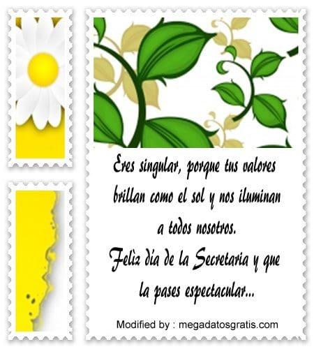 descargar mensajes del dia de la Secretaria,mensajes bonitos para el dia de la Secretaria