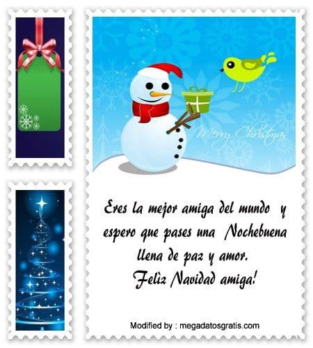 frases con imàgenes para enviar en Navidad a mi amiga, palabras para enviar en Navidad a mi amiga
