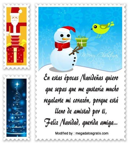 poemas para enviar en Navidad a mi amiga,frases bonitas para enviar en Navidad a mi amiga