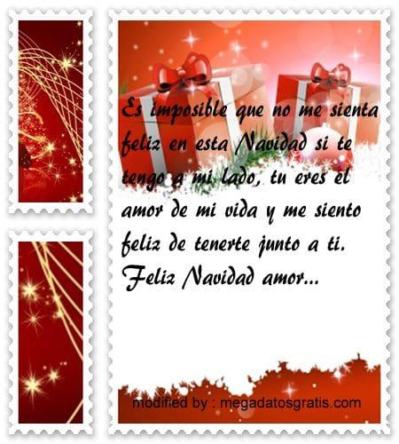 postales de mensajes de Navidad,frases bonitas para saludar a mi novio por Navidad