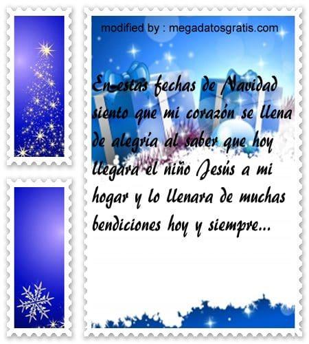 postales de mensajes de Navidad,enviar saludos de Navidad por Messenger
