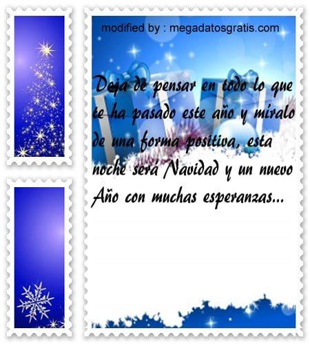 postales de mensajes de Navidad,poemas Navideños para mi hermano