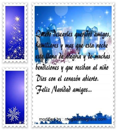 postales de mensajes de Navidad, tiernos saludos Navideños para compartir en facebook