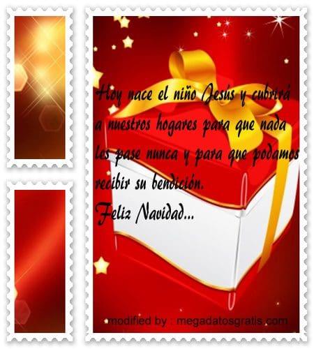 postales de mensajes de Navidad,tiernos pensamientos de Navidad para facebook
