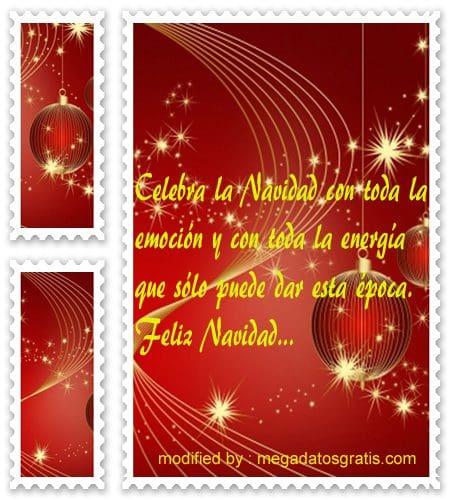 postales de mensajes de Navidad,poemas Navideños para compartir gratis