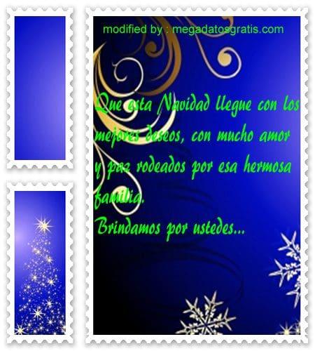 postales de mensajes de Navidad,originales saludos Navideños