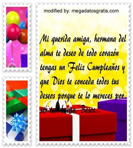 Frases de cumpleaños para mi amiga, Bellos mensajes de cumpleaños para tu amiga
