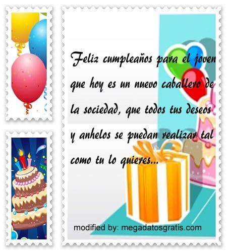 Palabras para felicitar a un quinceañero,obsequiar bellas palabras de cumpleaños para quinceañero