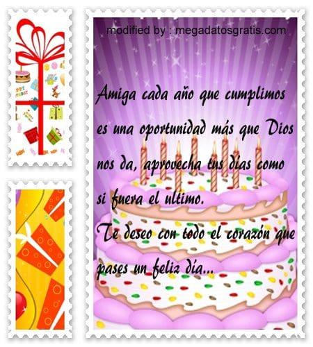 Saludos de cumpleaños para mi amiga, especiales saludos de cumpleaños para tu amiga