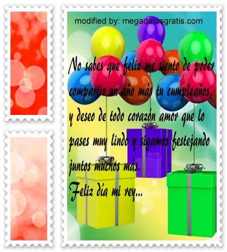 Textos para mi amor por su cumpleaños, especiales saludos de cumpleaños para tu novio