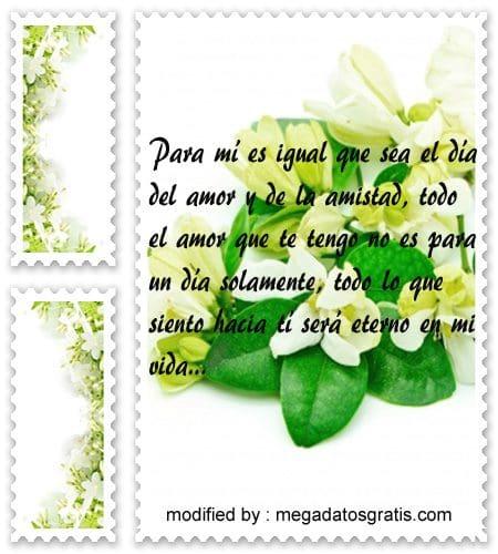 Textos para saludar por el 14 de febrero,versos para mi pareja por el dia del amor