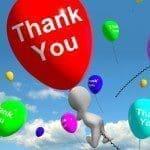 Dedicatorias de agradecimiento por saludos de cumpleaños, textos de agradecimiento por saludos de cumpleaños