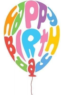 Bonitos mensajes de cumpleaños para compartir con imágenes