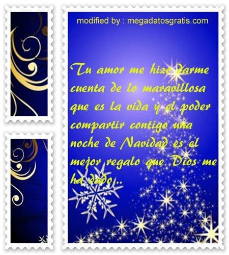 postales de mensajes de Navidad,bellos saludos para enviar por whatsapp a mi pareja