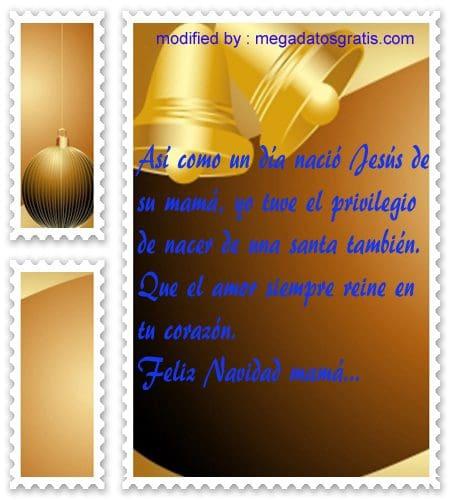 postales de mensajes de Navidad,lindos textos Navideños para tu familia