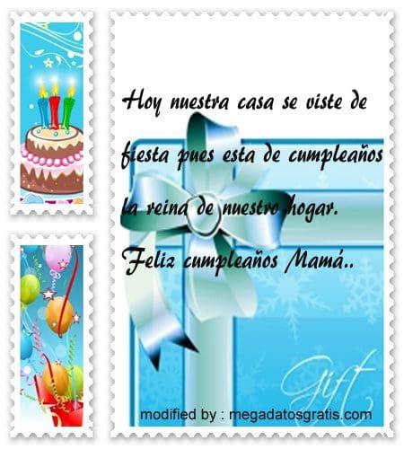 Frases de cumpleaños para Mamá, Hermosos textos de cumpleaños para tu Mamá