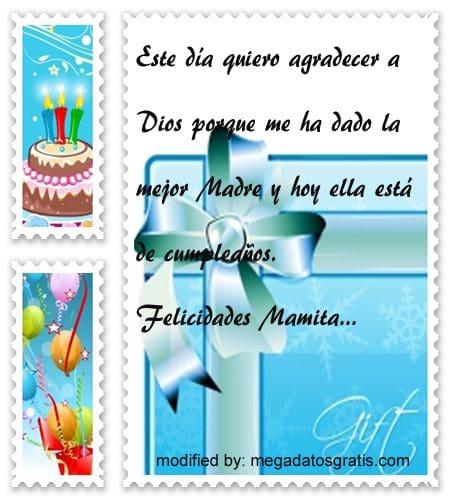Frases de cumpleaños para mamá,Lindas frases de cumpleaños para tu madre