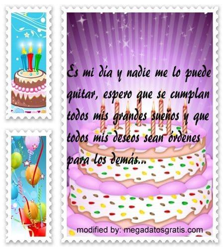 Mensajes cortos de discurso de cumpleaños,nuevos sms para saludar por tu cumpleaños