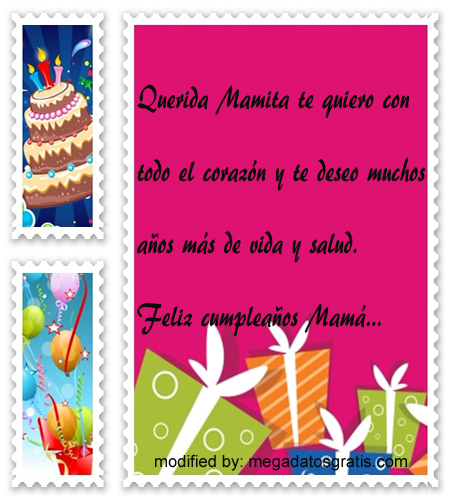 Mensajes de cumpleaños para mi madre,Bellos mensajes de cumpleaños para tu madre