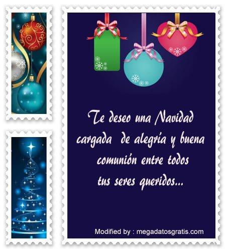 tarjetas con palabras de Navidad, mensajes de texto de Navidad