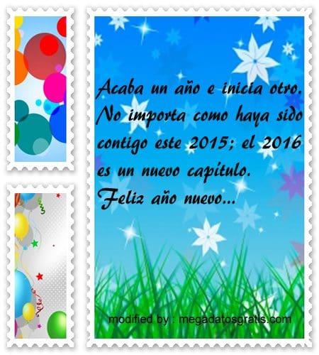 mensajes de ano nuevo,palabras para saludar en año nuevo