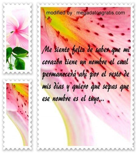 Bellos mensajes para el 14 de febrero,frases bonitas para mi amor por el 14 d febrero