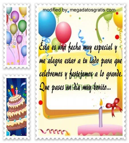 Saludos de cumpleaños por Whatsapp,textos gratis de cumpleaños por whatsapp