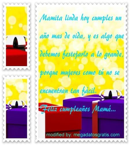 Textos de cumpleaños para mi madre, Hermosos textos de cumpleaños para tu mamá