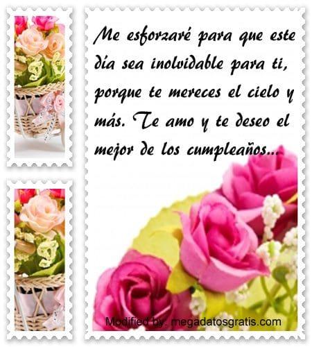 palabras de cumpleaños para mi amor,tiernos saludos de cumpleaños para mi amor