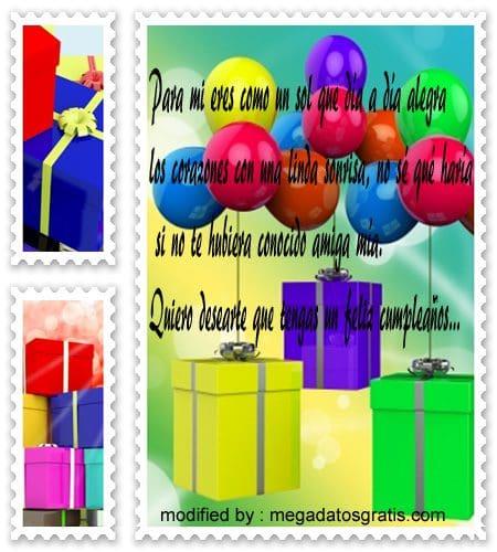 felicitaciones de cumpleaños con imògenes para amigos ,bellas frases de saludos de cumpleaños para una amiga